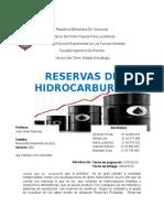 Reservas de Hidrocarburos