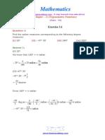 11 Maths NcertSolutions Chapter 3 1
