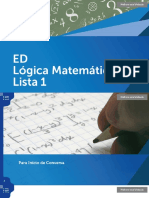 ED Logica Matematica Lista1