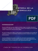 Historia de La Hidráulica