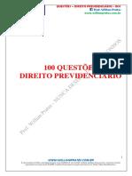 100 Questões de Direito Previdenciário