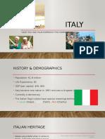 italian presentation