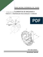 Engranes Helicoidales y Conicos