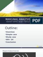 Group 6 - Marginal Analysis