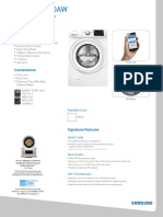 Samsung Washer Spec 88727696288