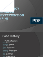 PIH (Pregnany induced HTN)-Case history