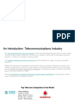 IST 755 Telecom Industry Analysis
