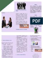 folleto sava servicio al cliente