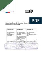 Manual de Toma de Muestras General Laboratorio Clinico HRR V0 2014