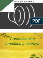 Conductas Asertivas Del Estudiante de Logopedia