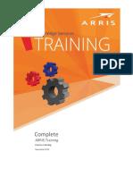 Arris Combined Training Catalog 2015