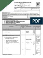Plan y Programa 4to.periodo