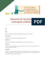 Glosario Términos Conceptos Robóticos