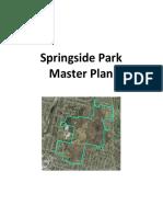 Springside Park Master Plan - Draft