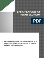 Basic Characteristics of Indian Economy-2