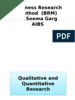 Qualitative Quantitative Research (1)