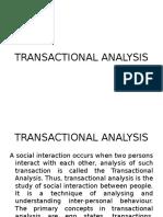 Transactional Analsis