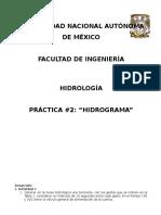 Practica 2 Hidrologia
