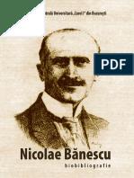 Nicolae Banescu Biobibliografie