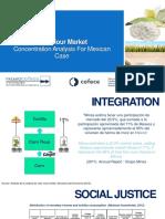 Competencia en el mercado de harina de maiz
