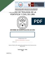 Esquema Informe PIAP Redes