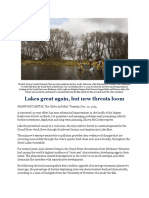 Lakes Great Again, But New Threats Loom (Dec. 01, 2015)