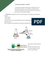 Resumo Extração Líquido-Líquido