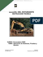 manual de escavadora 330D cat