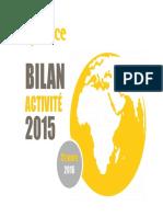 Rapport d'activité 2015 de la BPI