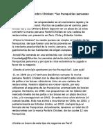 Arnold Wu (Pardos Chicken y Las Franquicias Peruanas)
