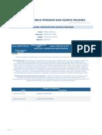 Perfil Competencia Operador Base Equipos Molienda
