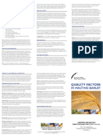 Quality Factors in Malting Barley - May 2010