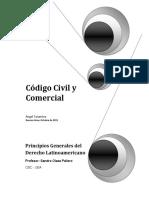 Monografia Código Civil y Comercial Argentino