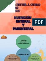 Clase de Alimentacion Enteral y Parenteral