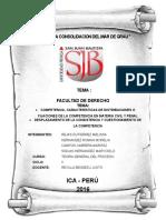 Trabajo Monografico de derecho en materia civil y penal - desplazamiento de la consistencia y cuestionamiento de la competencia.docx