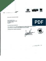 Denuncia ante la Comisión Ética