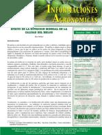 Informaciones K- Calid Agronomicas 2006 No. 63