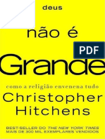 Deus Nao e Grande - Christopher Hitchens
