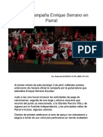 2016-04-03 Arranca campaña Enrique Serrano en Parral