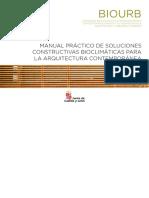 Manuel Practico de Soluciones Constructivas  Bioclimaticas