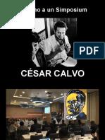 En torno a un Simposium - César Calvo - Poesía