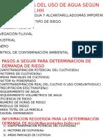 Preguntas Teoricas Irrigaciones FIC UNCP