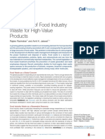 Exploitation  of  Food  Industry Waste  for  High-Value Products