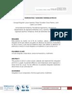 Medicion de Temperatura y Sensores Termoelectricos
