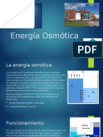 Energía Osmótica