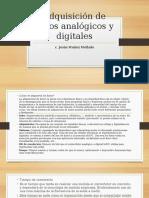 Adquisicin de datos analgicos y digitales