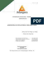 ATPS Administração Financeira e Orçamentária