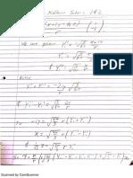 Supplemental Exam Practice Solutions