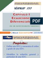01 Ecuaciones Diferenciales -InTRODUCCION [Modo de Compatibilidad]