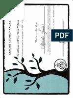 apache certificate